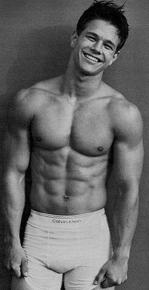 #mark wahlberg #underwear model