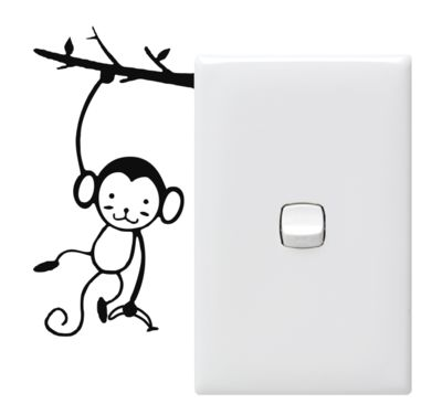 Monkey - Switch Sitters  (PowerPoint Not Included)