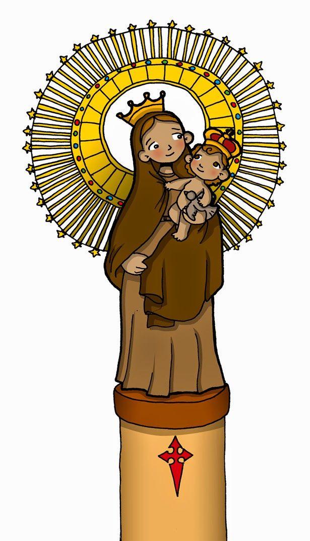 Fiesta: 12 de octubre                             Esta advocación mariana proviene de la aparición más antigua de la Santísima Virgen María....