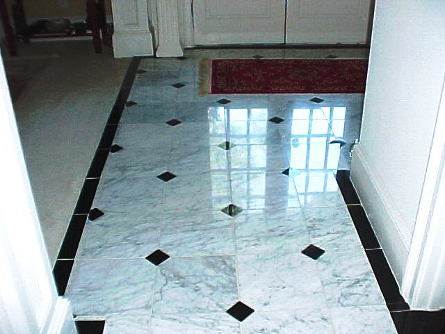 black and white ceramic floor tile islh. beautiful ideas. Home Design Ideas