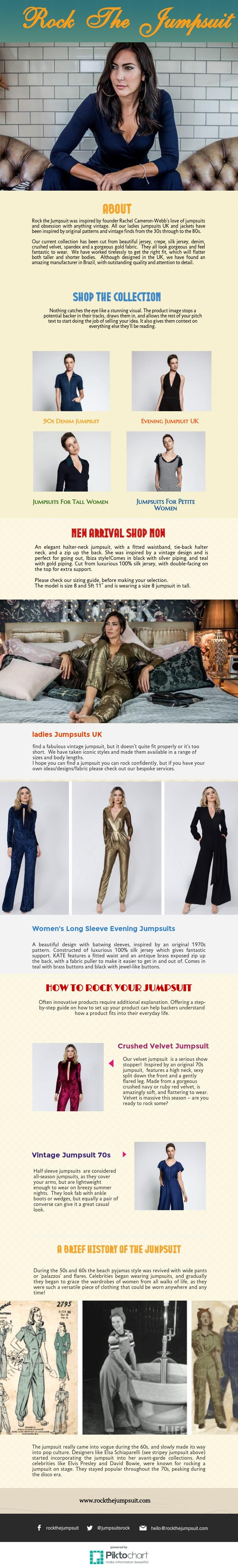 Rock The Jumpsuit Add a blazer or jacket if its cold, or if you want a more professional look in Ladies Jumpsuits UK . Fitted denim and leather jackets can also look very cool.So for women who are tired of the usual jeans & t-shirt or summer dresses, a jumpsuit is a great alternative. It is a multipurpose and versatile fashion piece, ideal for almost any occasion