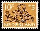 Kinderpostzegels - 10c+5c