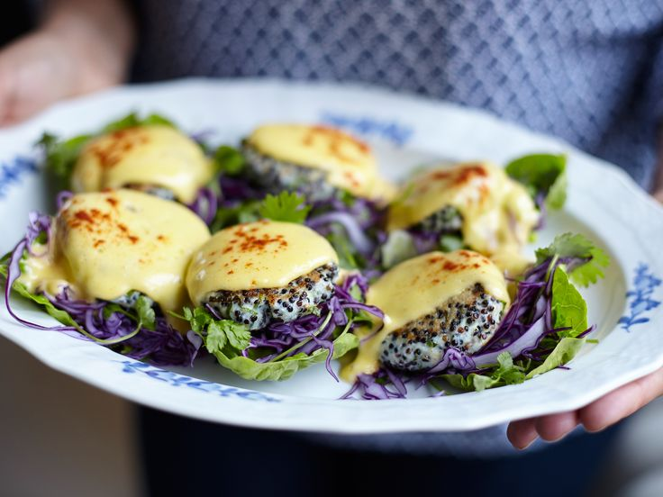 Thai fish cakes med hollandaise | Recept från Köket.se