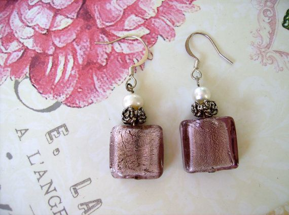 AMOUR OOAK Romantic Repurposed Vintage  by ReDESIGNProductions1 Romantic Pink Blush Earrings $22  https://www.etsy.com/ca/listing/86954099/amour-ooak-romantic-repurposed-vintage?ref=shop_home_active_18