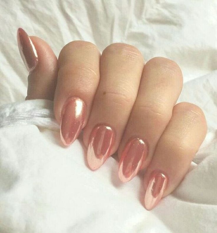 47 Gorgeous Rose Gold Nail Design Summer for Pretty Brides – Nails