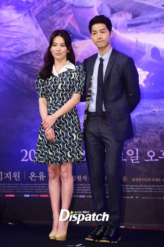 Song Joong Ki - Song Hye Kyo cuốn hút trong họp báo Hậu Duệ Mặt Trời - Ảnh 10.
