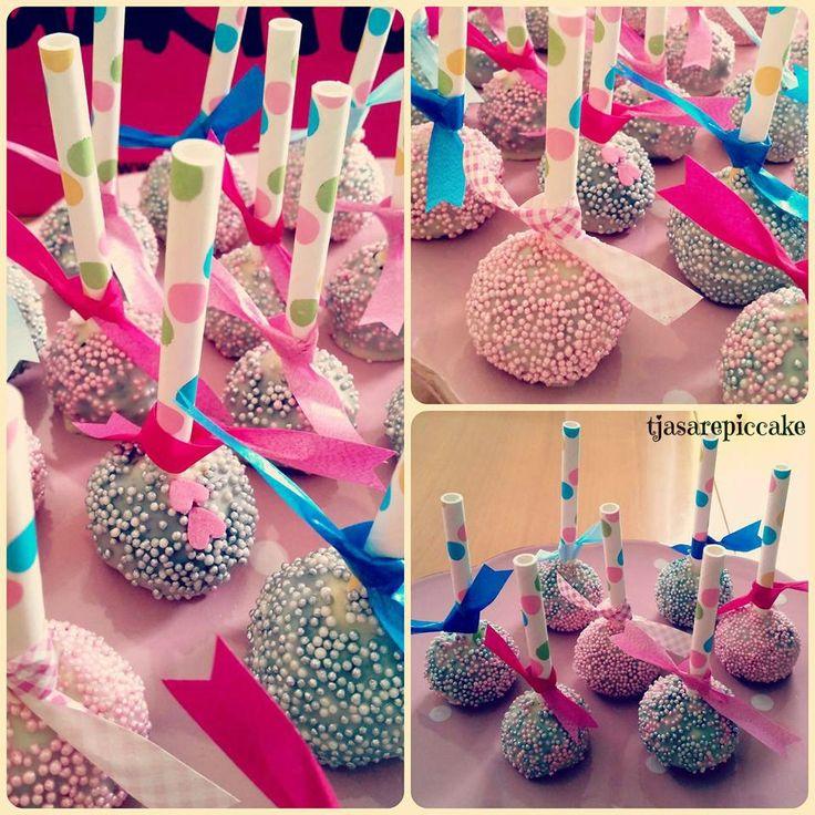 cakepops ♡ babyshower (With images) Cake pops, Homemade