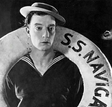 Image result for buster keaton portrait