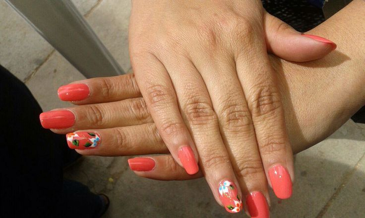 #ClientaFeliz #UñasHermosas #Ghem