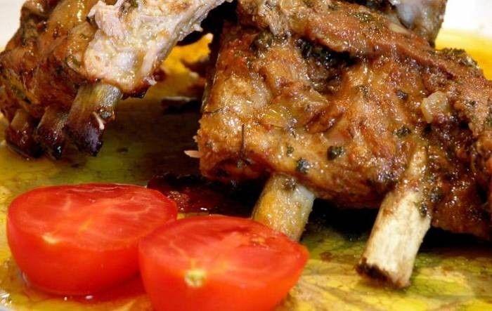 Ребра свиные в духовке в рукаве - рецепт с фото / Простые рецепты