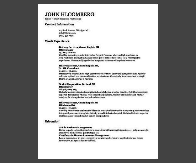 30 Google Docs Resume Templates [Downloadable PDFs] | resume