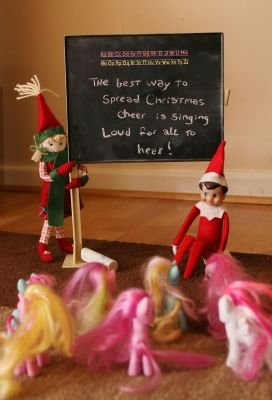 We scoured Pinterest for 30 way-too-cute Elf on the Shelf poses we'd never seen before...let these i