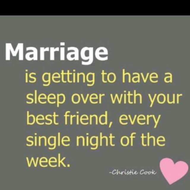 My married friend