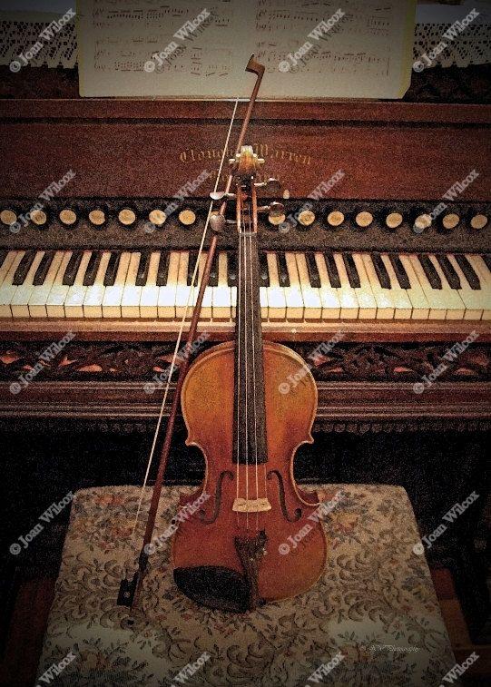 Concerto Masterpiece Violin Organ Piano Original Fine Art Etsy Violin Piano Piano Music