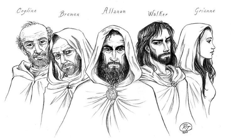 Druids of Shannara by ~roby-boh on deviantART