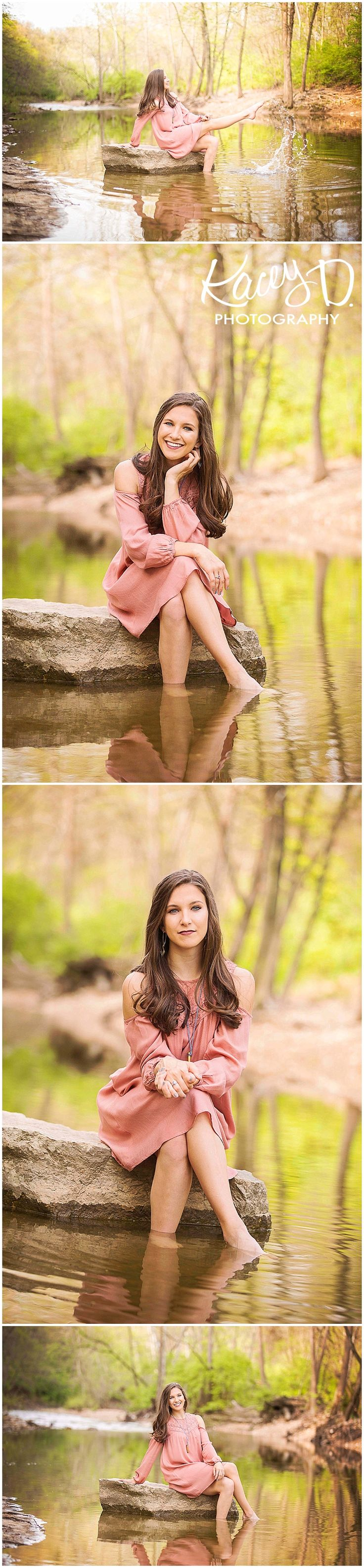 Lake Pond Creek Senior Pictures Kacey D Photography