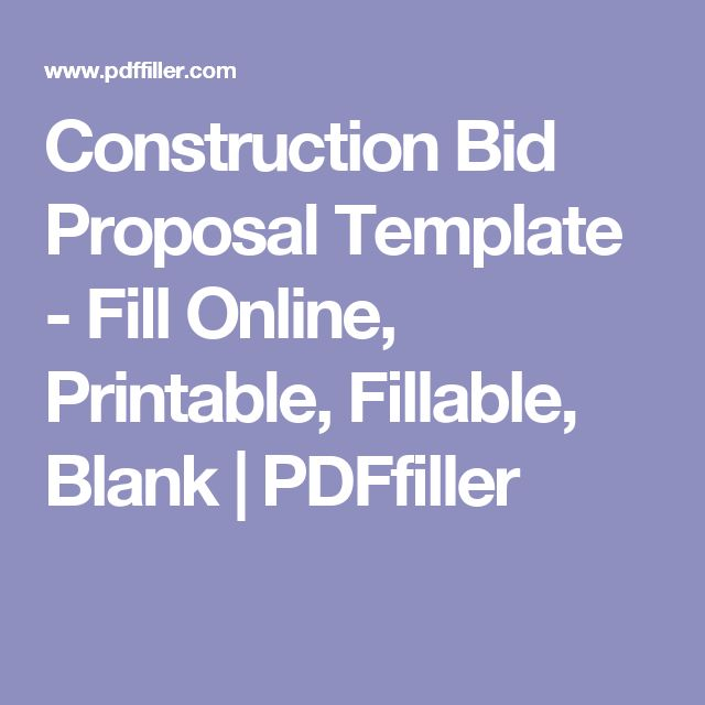 Best 25+ Construction Bids Ideas On Pinterest | Pool Construction