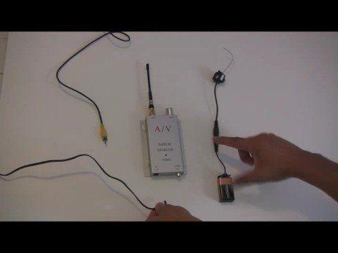 mini wireless spy cam - YouTube
