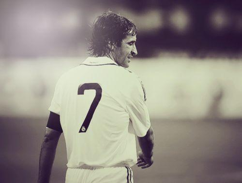 "The Prince of Santiago Bernabeu ""El Ferrari"" Raul Gonzalez"