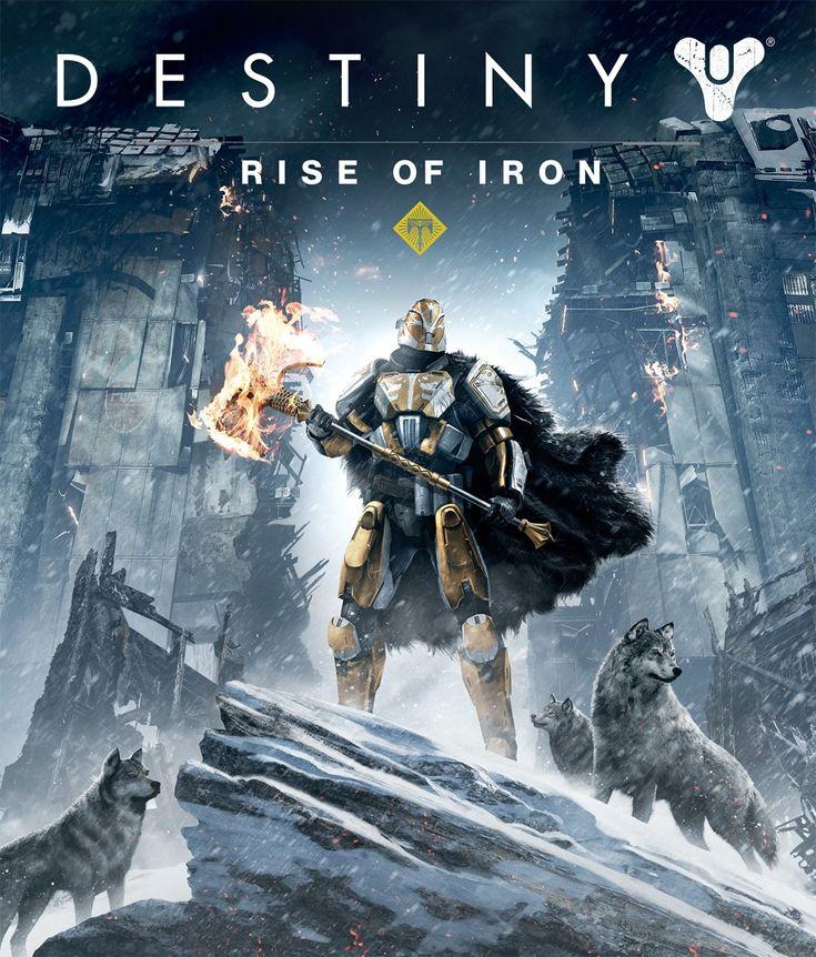 Destiny : Les Seigneurs de Fer Jeu vidéo  Date de sortie initiale : 20 septembre 2016 Développeur : Bungie Studios Éditeur : Activision Plates-formes : PlayStation 4, Xbox One Genres : Action-RPG, Jeu de tir à la première personne