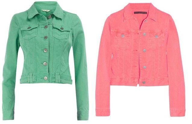 La giacca di jeans è un must have per la primavera estate 2012 e accanto al denim classico si sono affiancati una miriade di colori, pastello e neon. Osate!