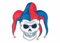 Jester Skull Tattoo