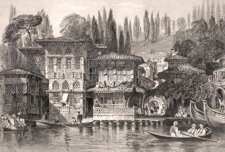 Thomas ALLOM Yeniköy'de Rum Papazının Evi