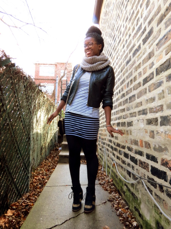 Outfitted :: Pumped Up Kicks feat. wedge sneakers and stripes