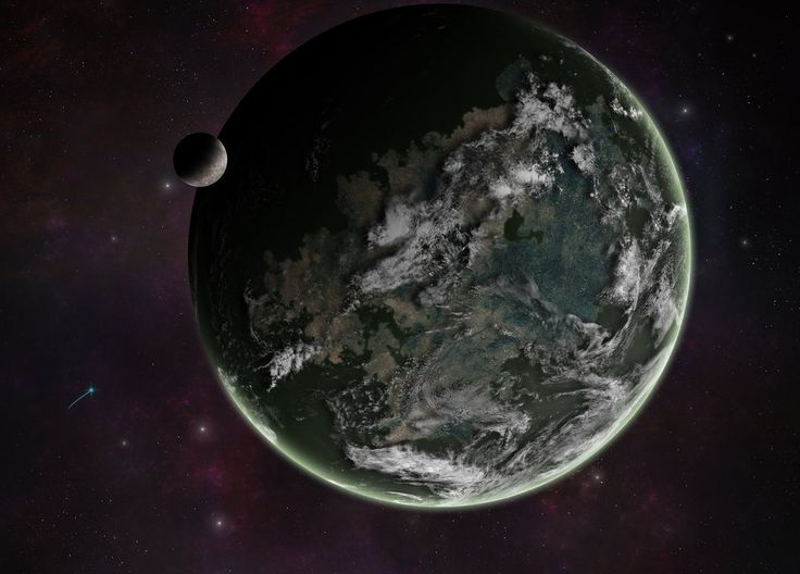 Fungal Planet by ART5EC.deviantart.com on @DeviantArt