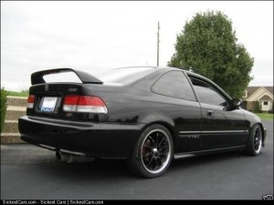 1999 Honda Civic Si Custom - http://sickestcars.com/2013/05/11/1999-honda-civic-si-custom/