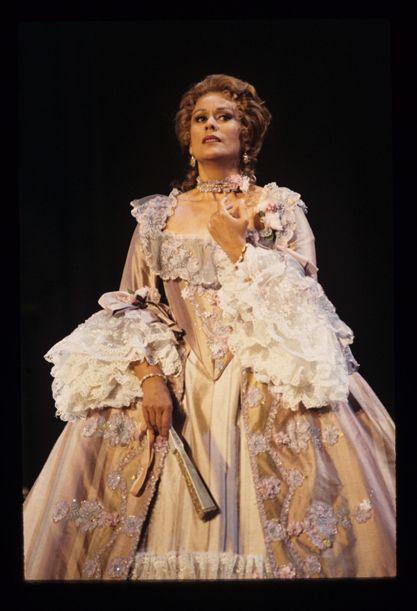"Kiri Te Kanawa as the countess Madeleine in ""Capriccio"" by Richard Strauss, SF Opera, 1993"