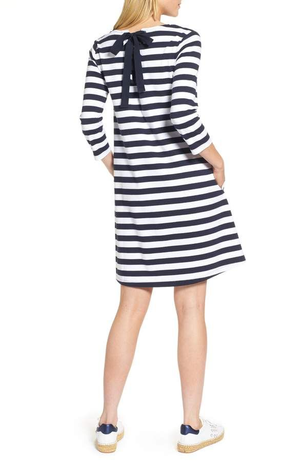4eaa678f48 Main Image - 1901 Tie Back Stripe Knit Dress