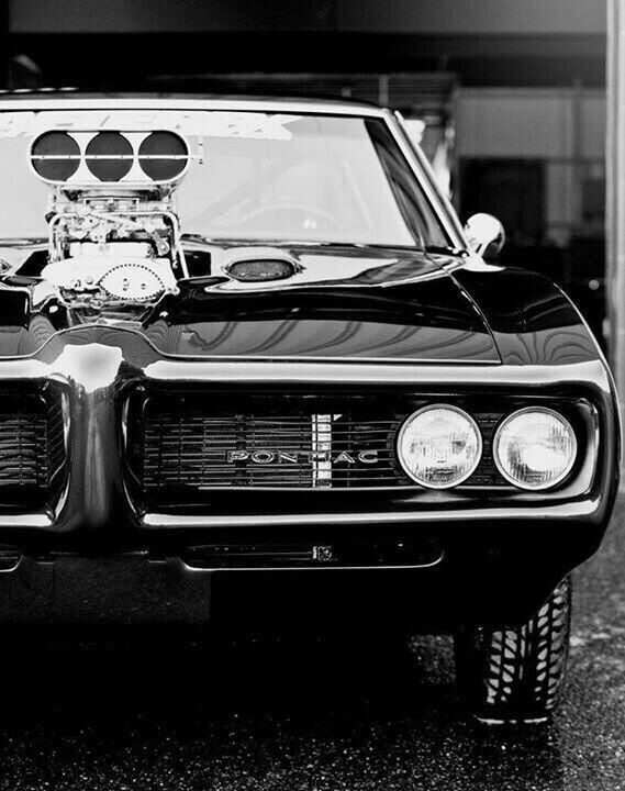 Pure American muscle car