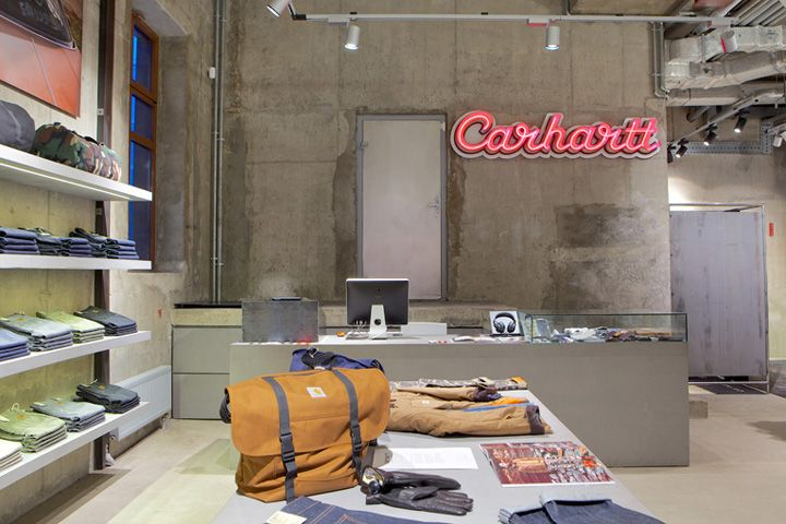 Carhartt store, Moscow