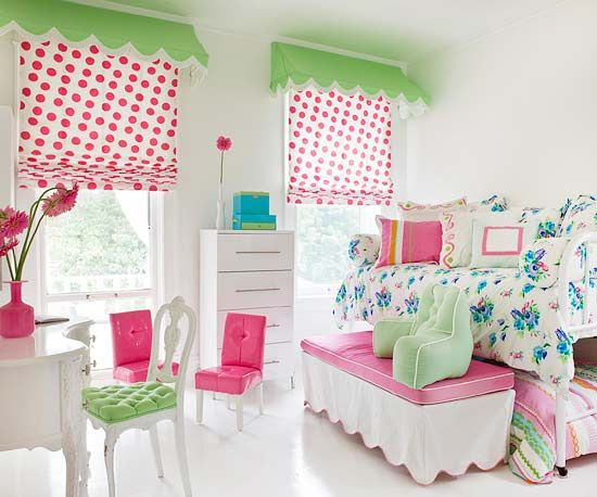 Cute Bedrooms for Girls: