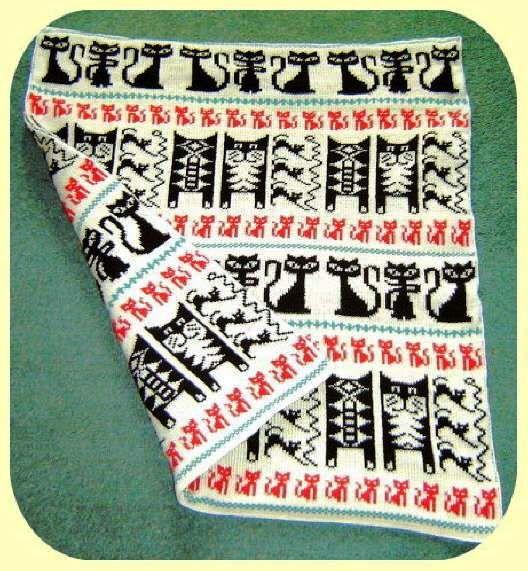 329 mejores im genes sobre mantas tejidas con dos agujas - Mantas con fotos ...