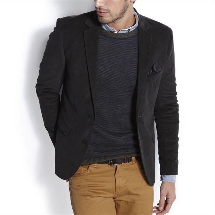 Veste velours homme Gris homme – la mode homme sur Jules.com