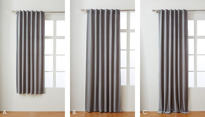 Choose The Right Curtains West Elm Canada Curtain Length Curtains Cool Curtains