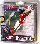 Andre Johnson Manufacturer: McFarlane Toys Series: McFarlane NFL Football Sportspicks Series 28 Release Date: December 2011 For ages: 4 and up UPC: 787926747560 Details (Description): The Houston Texans have already delivered their first division title and playoff appearance as Christmas presents, but a SportsPicks figure of their best player would be the icing on the cake.