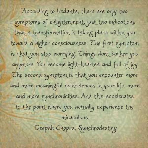 Deepak Chopra Quotes On Coincidence. QuotesGram
