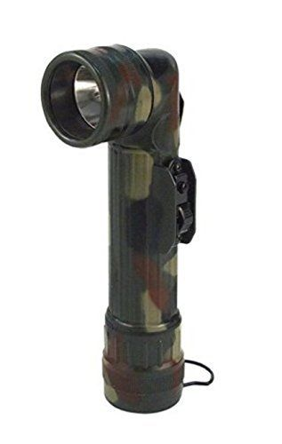 Woodland Camo Military GI Style D Cell Battery Angle Flashlight Color Lenses -- Visit the image link more details.(This is an Amazon affiliate link)