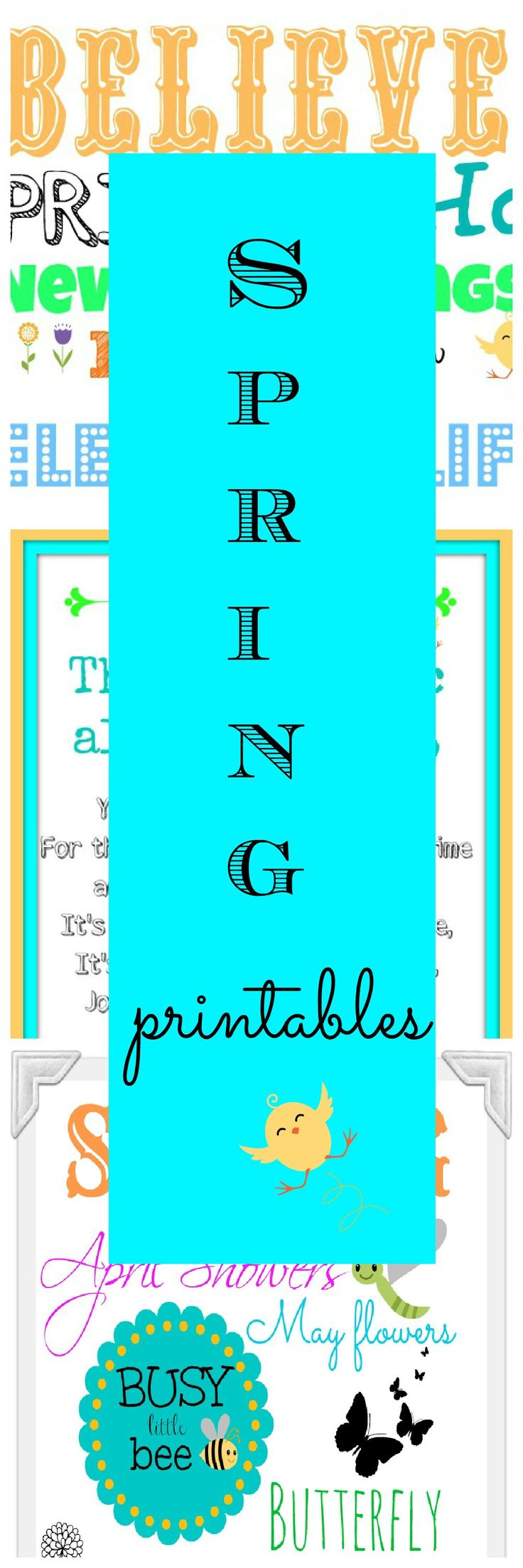 Three Spring-Easter printables