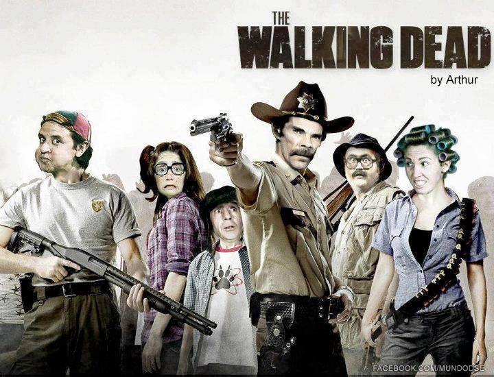 Los nuevos protagonistas de The Walking Dead 4.