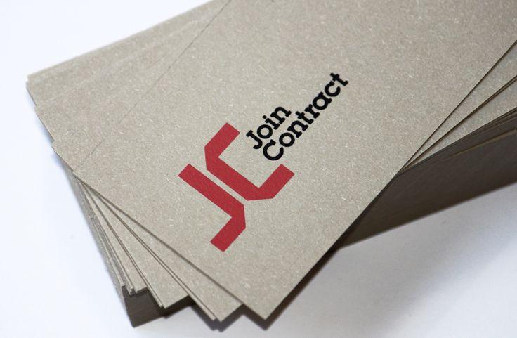 Marca y branding para empresa Join Contract muebles. Autor Pepe Canya, by Canya studio