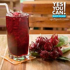 Agua de Jamaica - A healthy option for your Yes You Can! Diet Plan drink