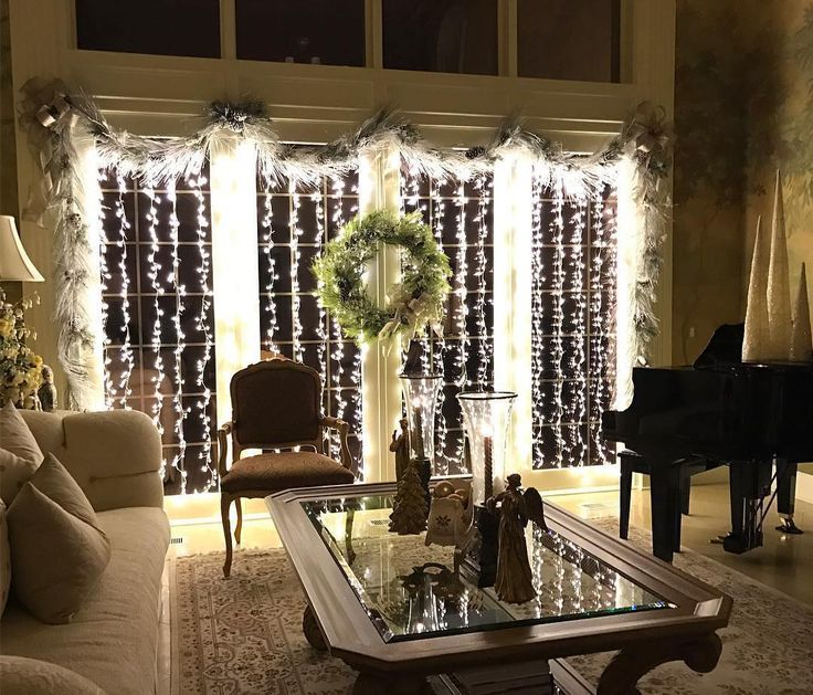 10+ Best Ideas About Indoor Christmas Lights On Pinterest
