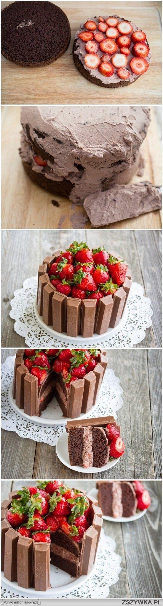 Truskawkowo-czekoladowe