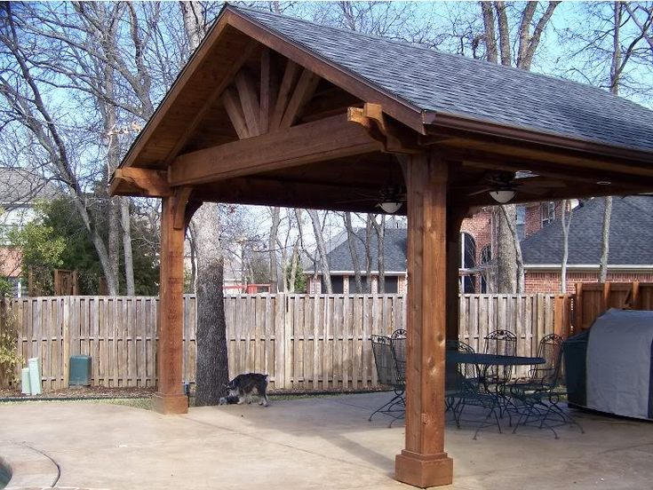 Wanting To Put A Roof Over My Deck