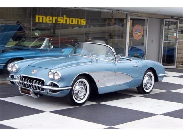 25 best 1959 chevrolet corvette images on pinterest old school cars vintage cars and antique cars. Black Bedroom Furniture Sets. Home Design Ideas