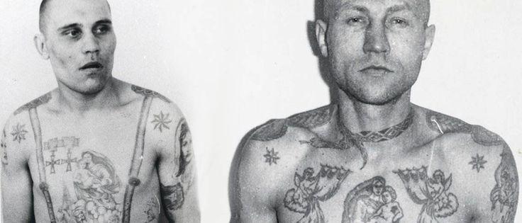 Tatuaje criminal Ruso